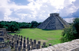 Part of the Chichen Itza complex