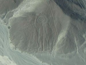 One of the Nazca figures resembling an astronaut
