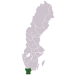 Location of Scania